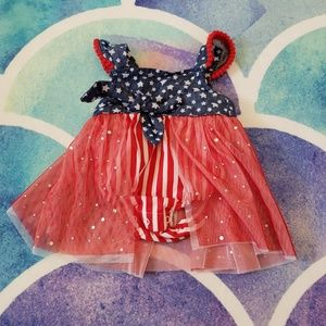 30% Off Bundles Baby Girls Fourth of July Body Sui